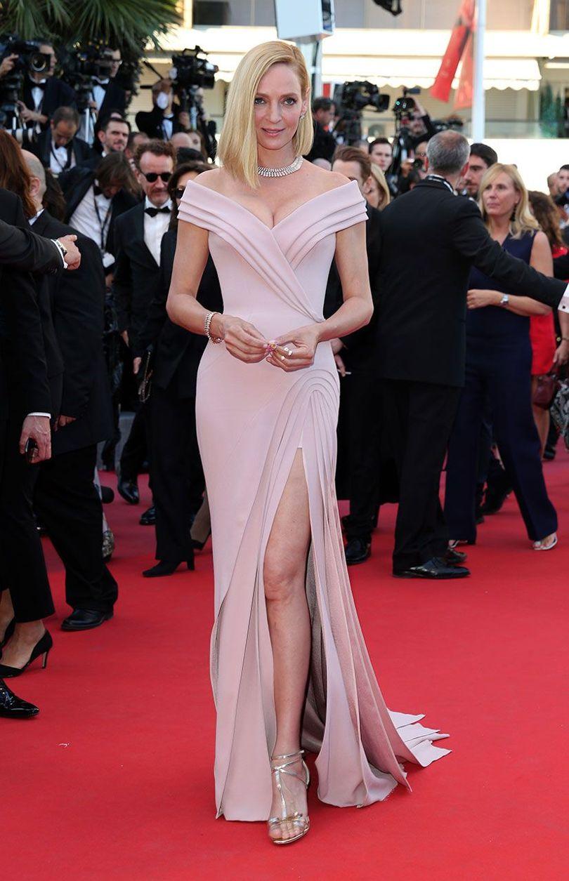 Uma Thurman at Cannes 2017