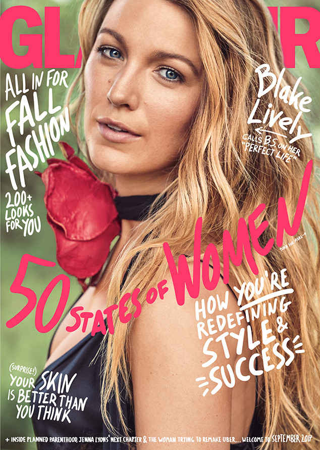 Blake Lively on the cover of the September 2017 issue of Glamour