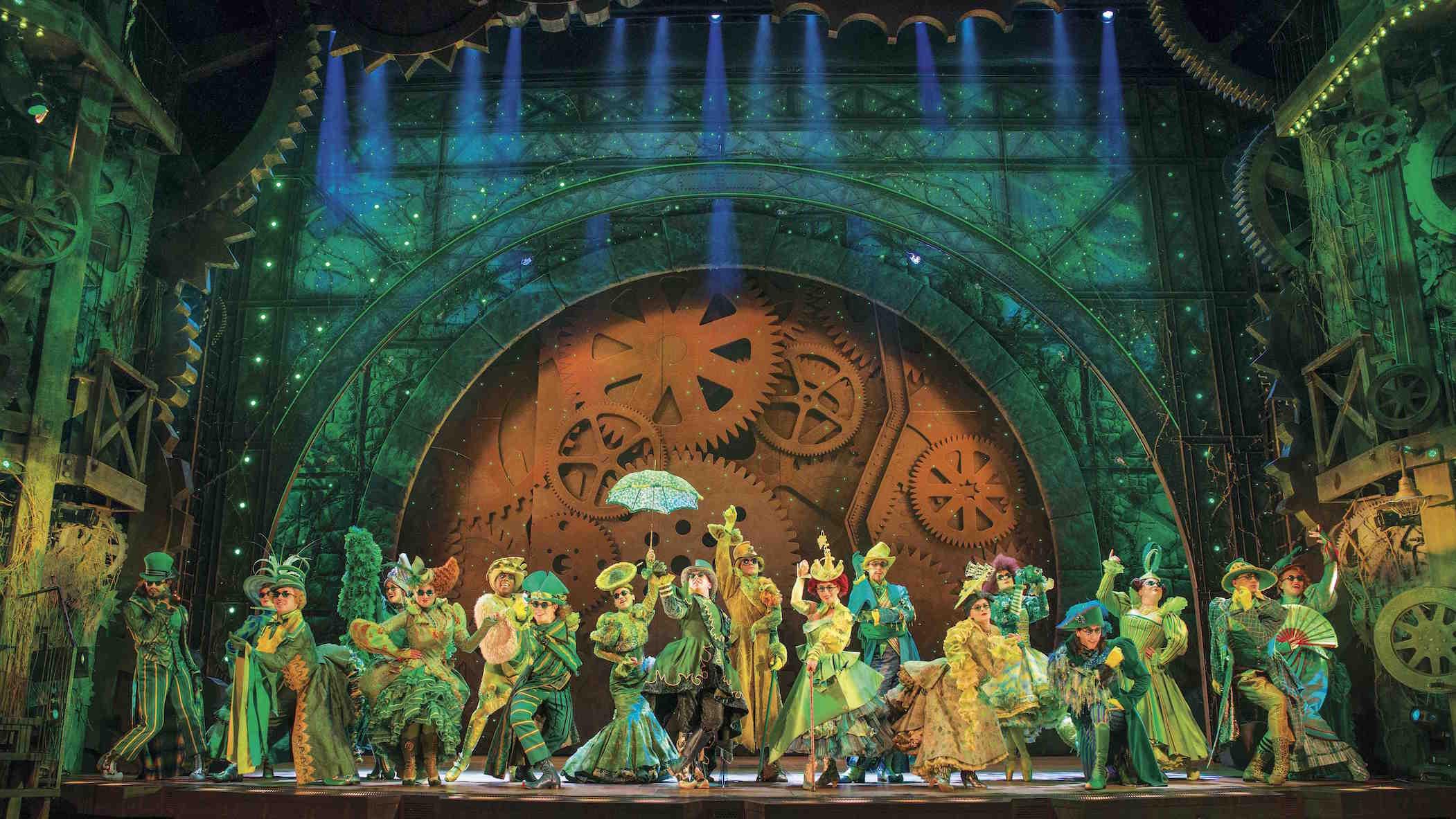Wicked Apollo Victoria Theatre photo by Matt Crockett