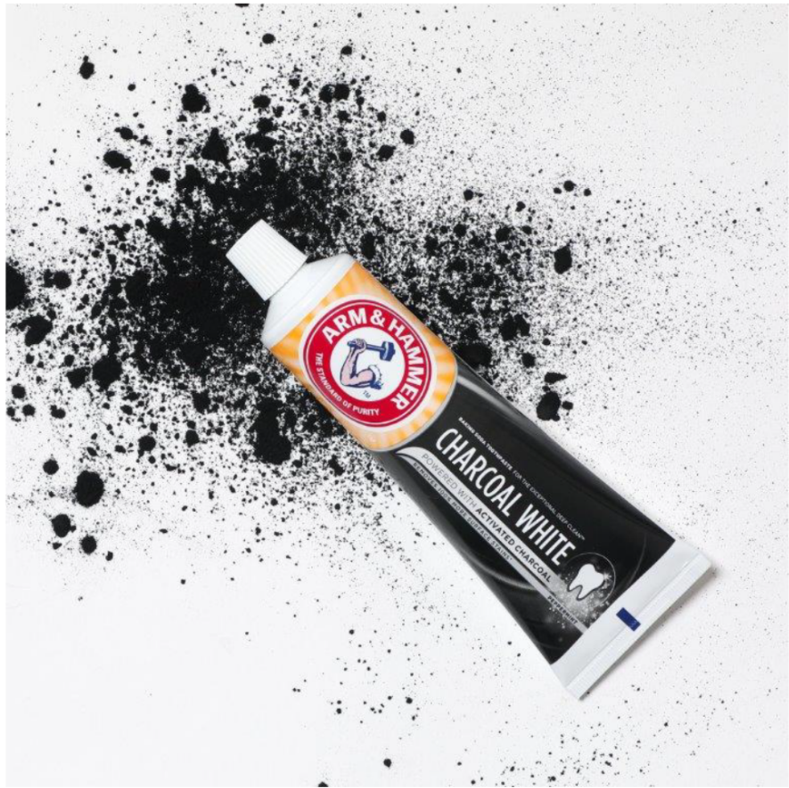 Arm and Hammer Charcoal White Toothpaste (£3)