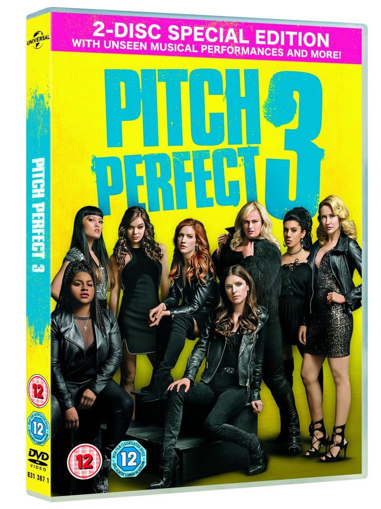8313871-11 Pitch Perfect 3 UK DVD Retail Sleeve Two Disc_3PA
