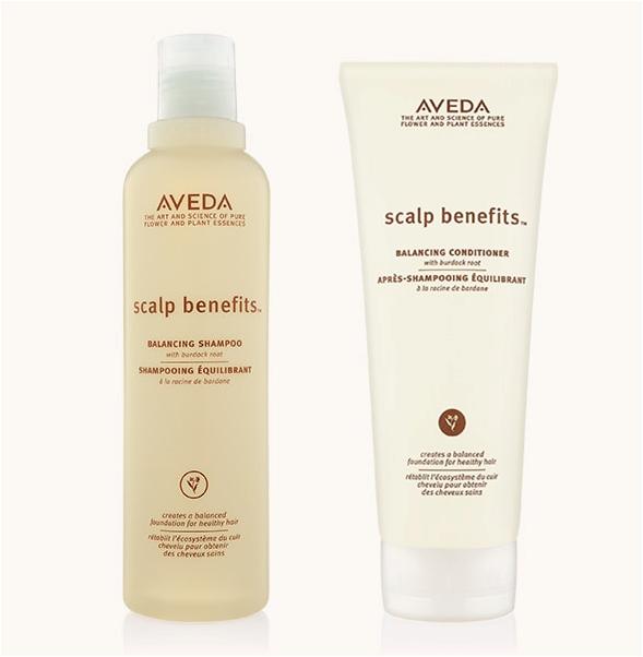Aveda scalp benefit shampoo & conditioner