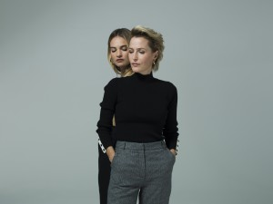 All About Eve with Gillian Anderson and Lily James-shot by Perou